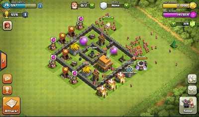 деревни в Clash Of Clans - фото 2