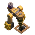 Dark Elixir Drill (Бур)