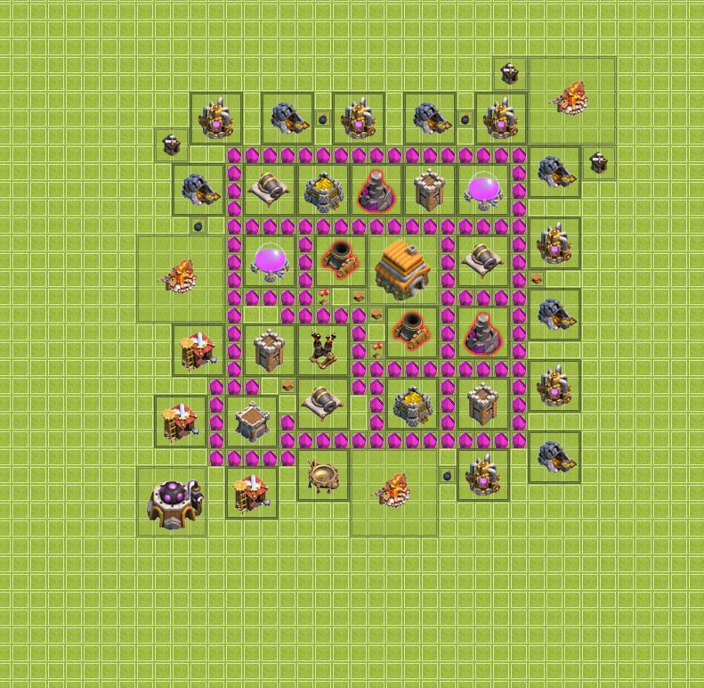 Как правильно построить базу на ТХ 6