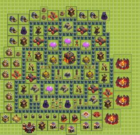 Как сделать базу в игре clash of clans