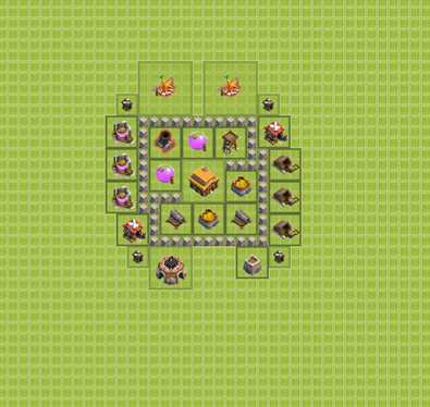 Как правильно построить базу на ТХ4
