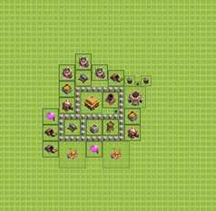 Расстановка базы на ТХ 3 для набора кубков