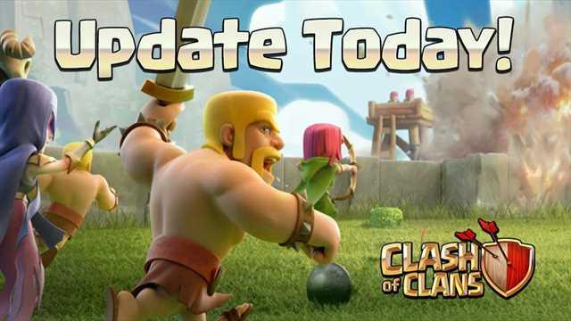 Майское обновление clash of clans