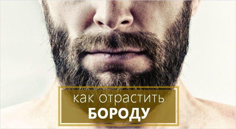 Бороды — отращивание бороды, уход за ней